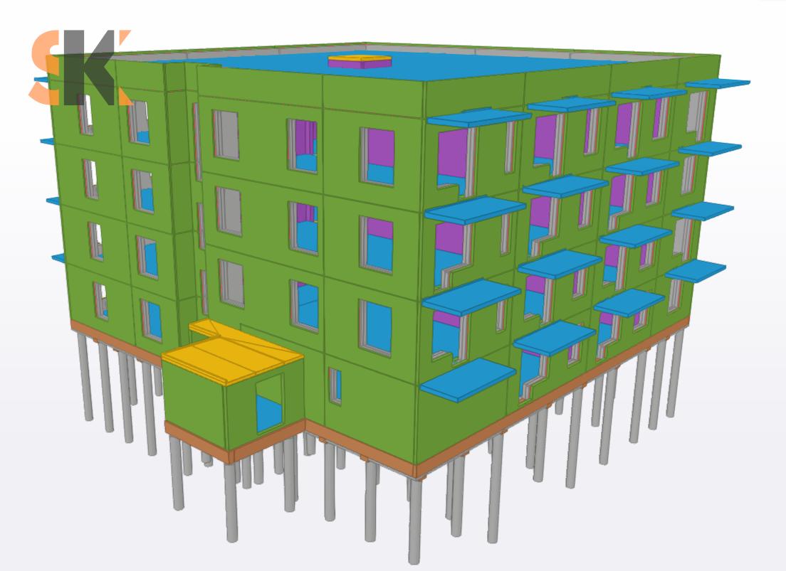 Daugiabučių gyvenamųjų namų Salaspilio g. 1, Vilniuje  Techninis ir Darbo projektai