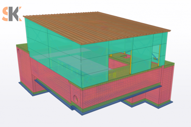 Tretinio valymo technologinio pastato Telšių miesto valykloje, Techninis Darbo projektas